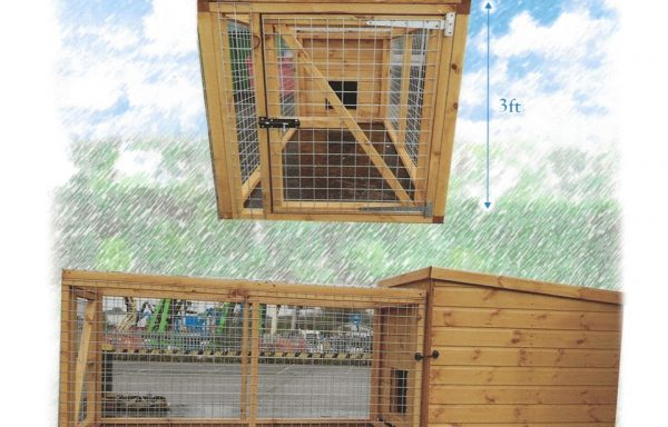 Dog Kennel With Removable Run