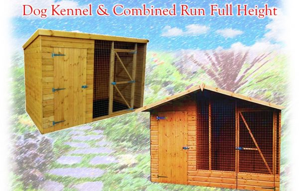 Dog Kennel With Combined Run