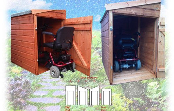 Mobility Scooter Shed/Garage