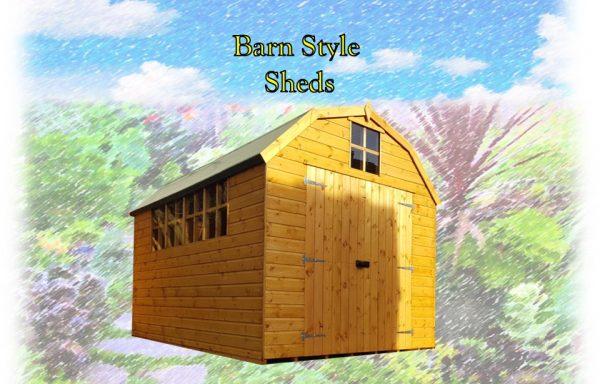 Barn Style Sheds